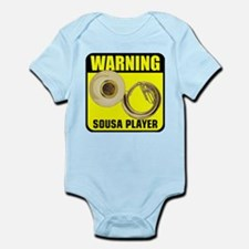 Warning: Sousa Player Infant Bodysuit