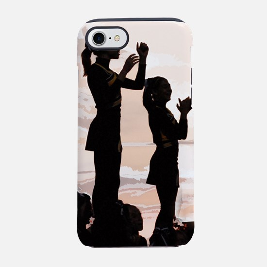 cheer leader sunset.png iPhone 7 Tough Case