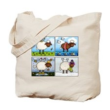 Sheep of All Seasons Tote Bag