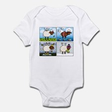 Sheep of All Seasons Infant Bodysuit