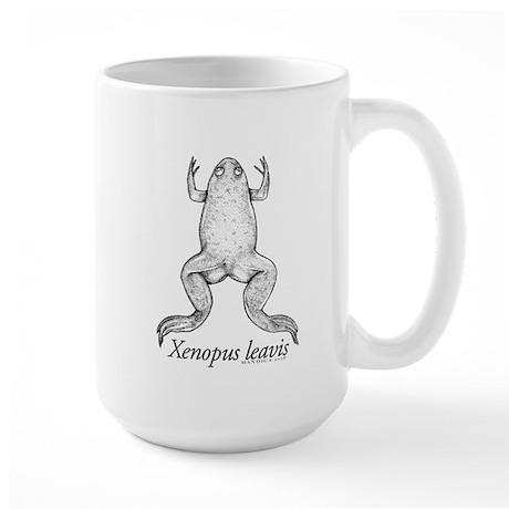 Lisa's Xenopus Large Mug