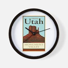 Travel Utah Wall Clock