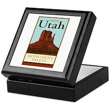 Travel Utah Keepsake Box