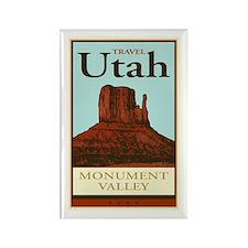 Travel Utah Rectangle Magnet