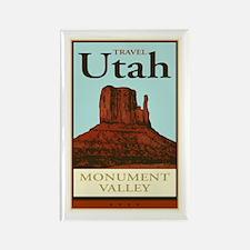 Travel Utah Rectangle Magnet (10 pack)