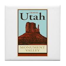 Travel Utah Tile Coaster