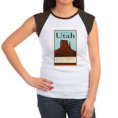 Travel Utah Women's Cap Sleeve T-Shirt