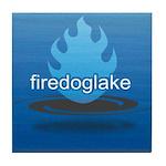 Firedoglake Tile Coaster