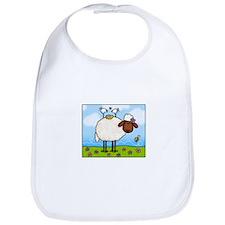 Spring Sheep Bib