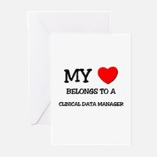 My Heart Belongs To A CLINICAL DATA MANAGER Greeti