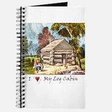 Mountain Log Cabin Color Journal