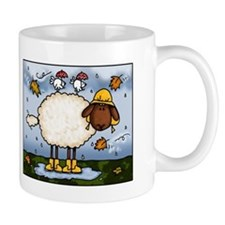 Autumn Sheep Mug