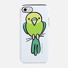 parakeet_green_only.png iPhone 7 Tough Case