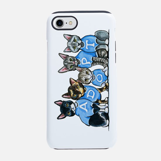 Adopt Shelter Cats iPhone 7 Tough Case