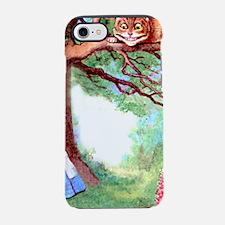Cute Through looking glass iPhone 7 Tough Case