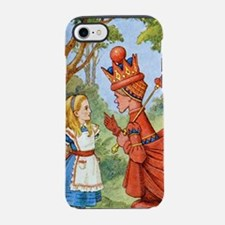 Funny Through looking glass iPhone 7 Tough Case