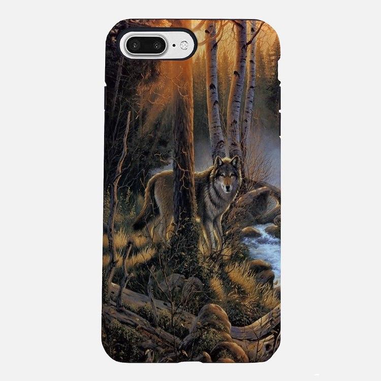 Forest Wolves iPhone 7 Plus Tough Case