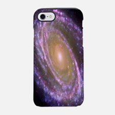 Violet Spiral Galaxy iPhone 7 Tough Case