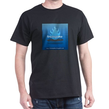 Firedoglake Black T-Shirt