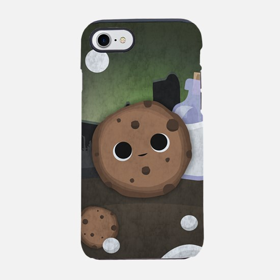 Midnight Cookie with Milk iPhone 7 Tough Case