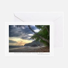 Costa Rica Beach Greeting Card