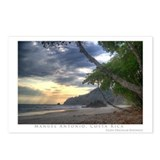 Costa rica beach pictures Postcards