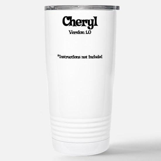 Cheryl - Version 1.0 Stainless Steel Travel Mug