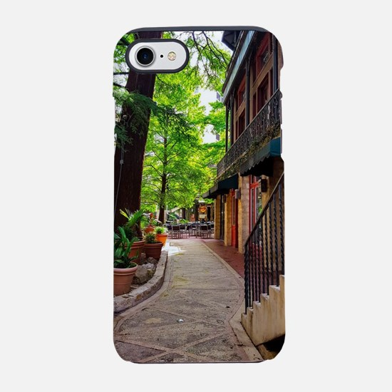 Summer on the Riverwalk iPhone 7 Tough Case