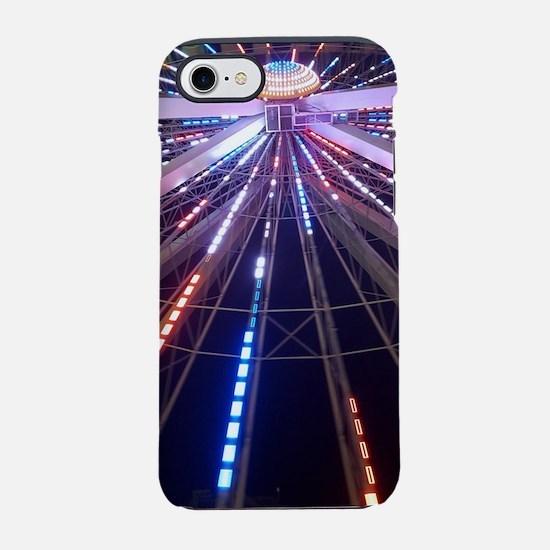 Ferris wheel multicolor lights iPhone 7 Tough Case