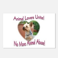 Animal Lovers Unite! Postcards (Package of 8)