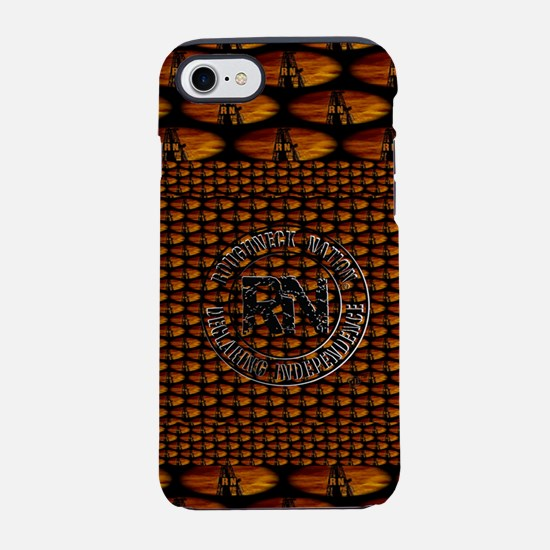 ROUGHSKIN ORANGE iPhone 7 Tough Case
