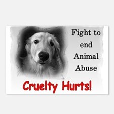 Cruelty Hurts! Postcards (Package of 8)