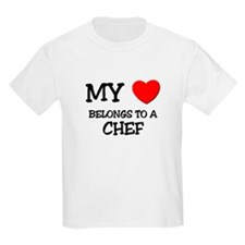My Heart Belongs To A CHEF T-Shirt
