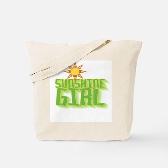 Sunshine Girl Tote Bag