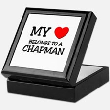 My Heart Belongs To A CHAPMAN Keepsake Box