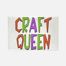 Craft Queen Rectangle Magnet