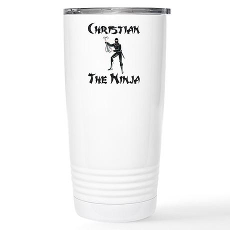 Super Hero Christian Stainless Steel Travel Mug