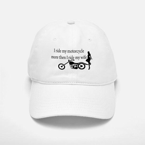 Motorcycle or Wife Cap
