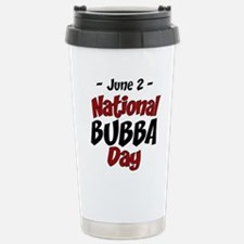 National Bubba Day Stainless Steel Travel Mug