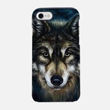 Artistic Wolf Face iPhone 7 Tough Case