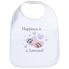 Happiness is...a Samoyed Bib