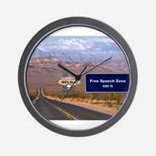 Death Valley Free Speech Wall Clock