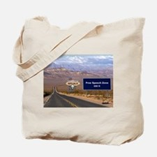 Death Valley Free Speech Tote Bag