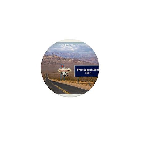 Death Valley Free Speech Mini Button (10 pack)