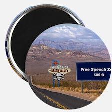 Death Valley Free Speech Magnet