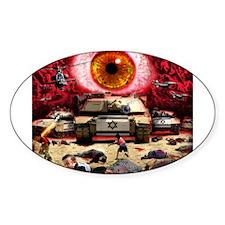 Israel Eye Oval Decal