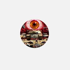 Israel Eye Mini Button