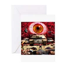 Israel Eye Greeting Card