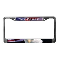 Air Force & Eagle - License Plate Frame