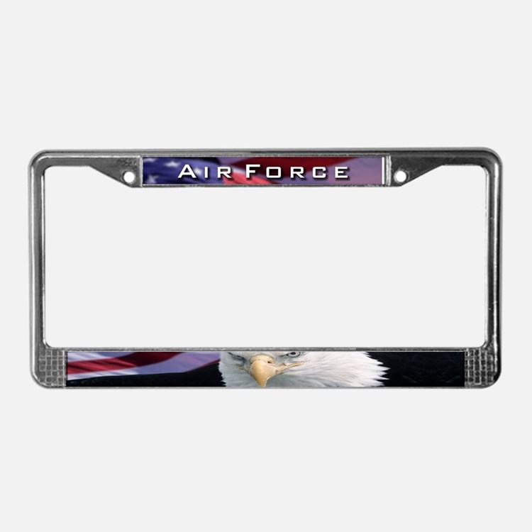 Air Force & Eagle - License Plate Frame